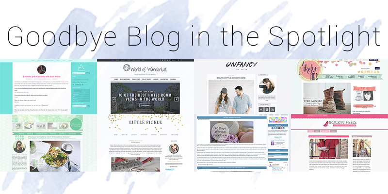 Goodbye Blog in the Spotlight