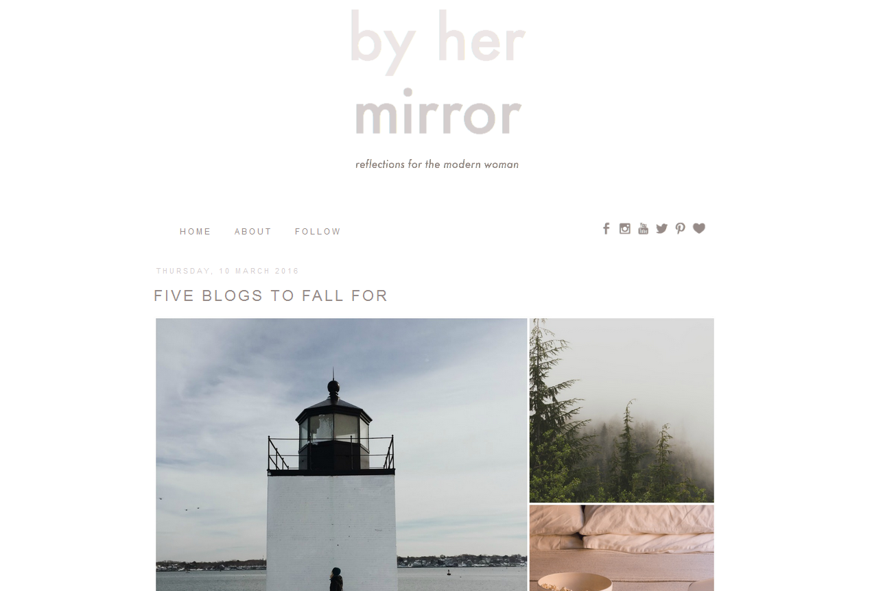 By Her Mirror | Suggested Reading | Spring 2016