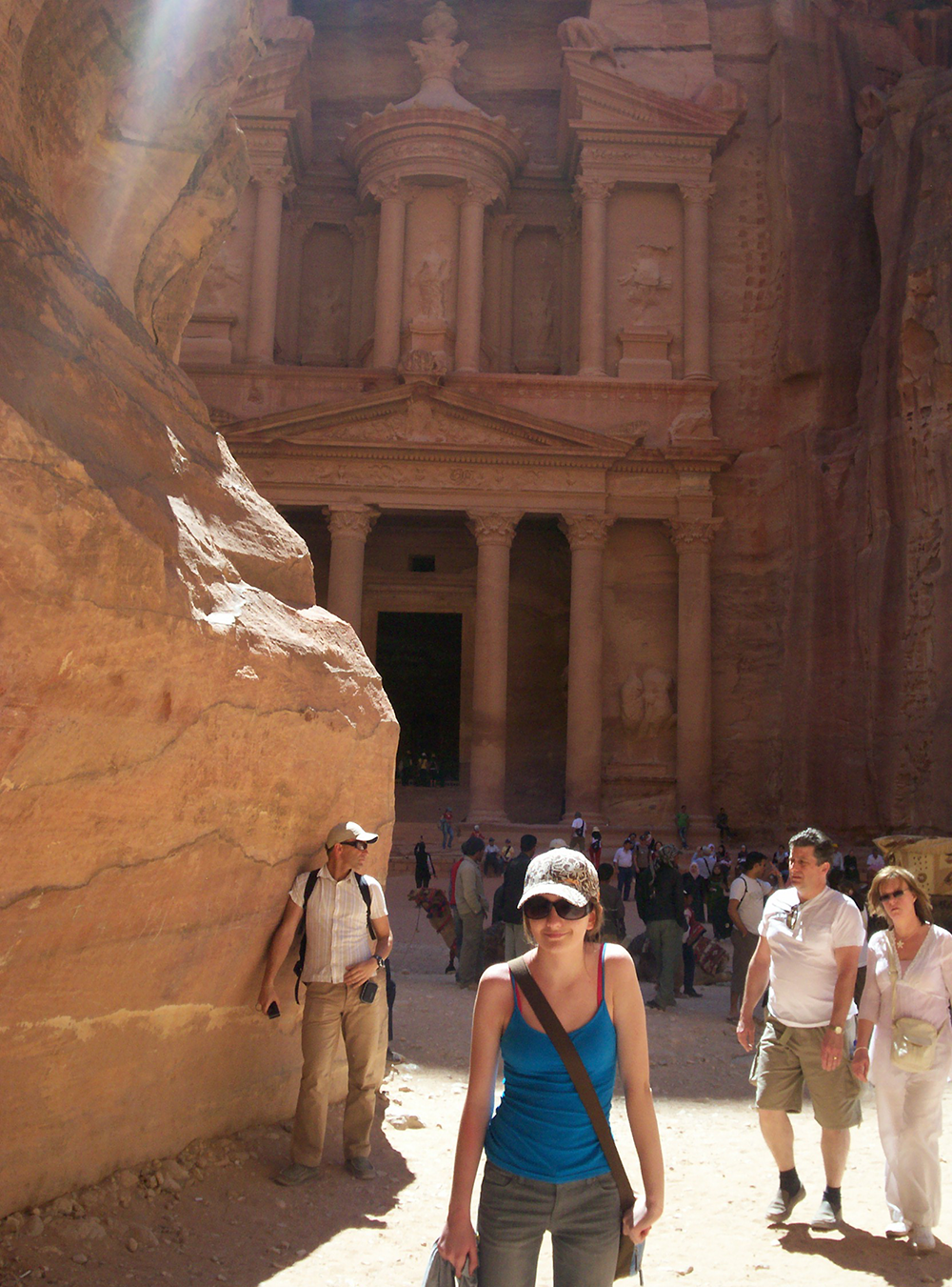 Childhood travel adventures - Petra Jordan