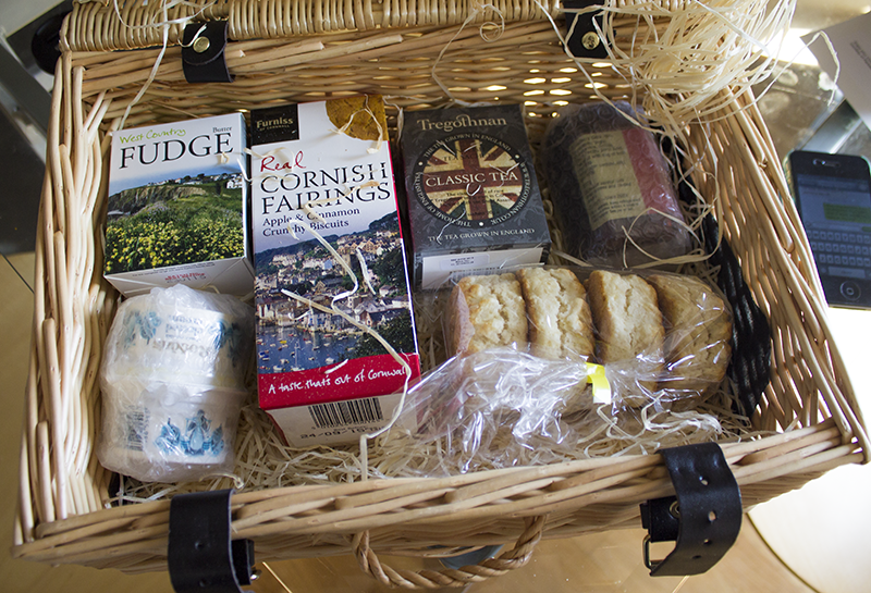 Cornish Cream Tea Hamper