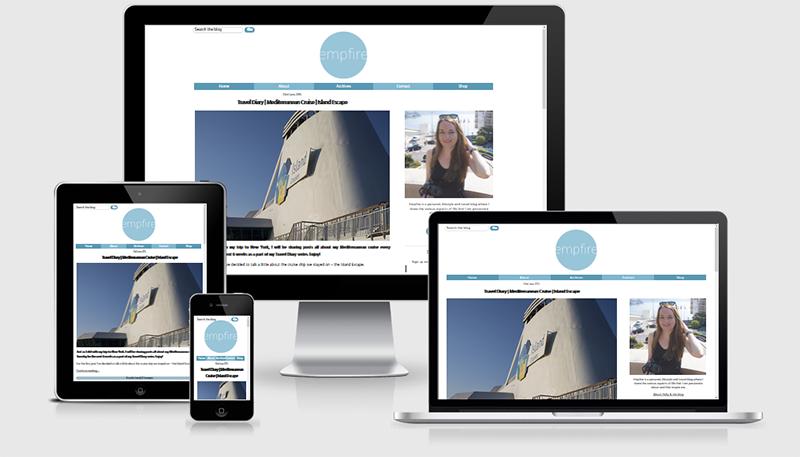 Empfire.info new layout