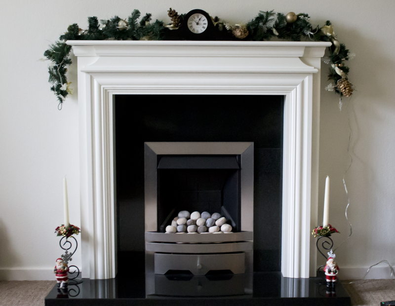 A Christmas Fireplace
