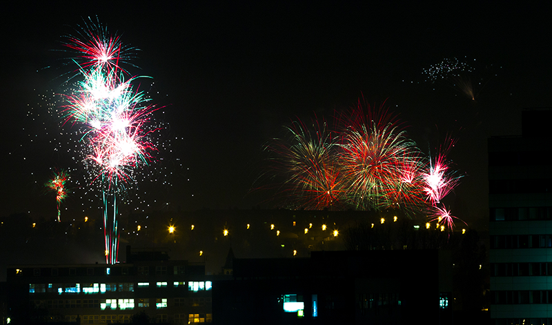 Fireworks from our flat