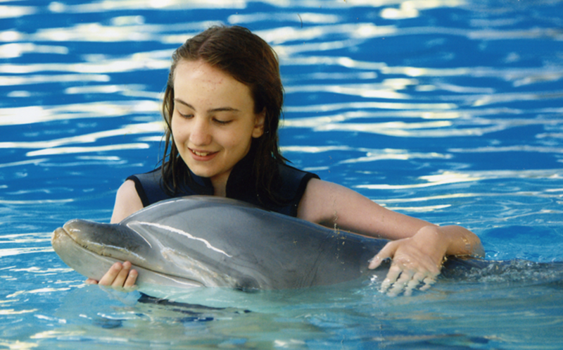 Swimming with dolphins- 8 photos of happiness tag