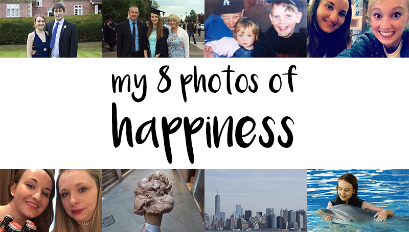 8 photos of happiness tag