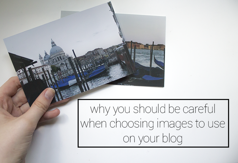 Why you should be careful when choosing images to use on your blog