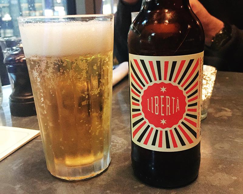 Jamie's Italian Liverpool - Beer