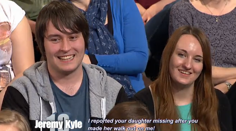 Ty and Holly on Jeremy Kyle