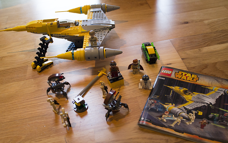Lego Star Wars with George Home