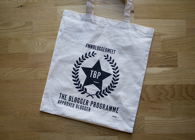 The Blogger Programme tote bag