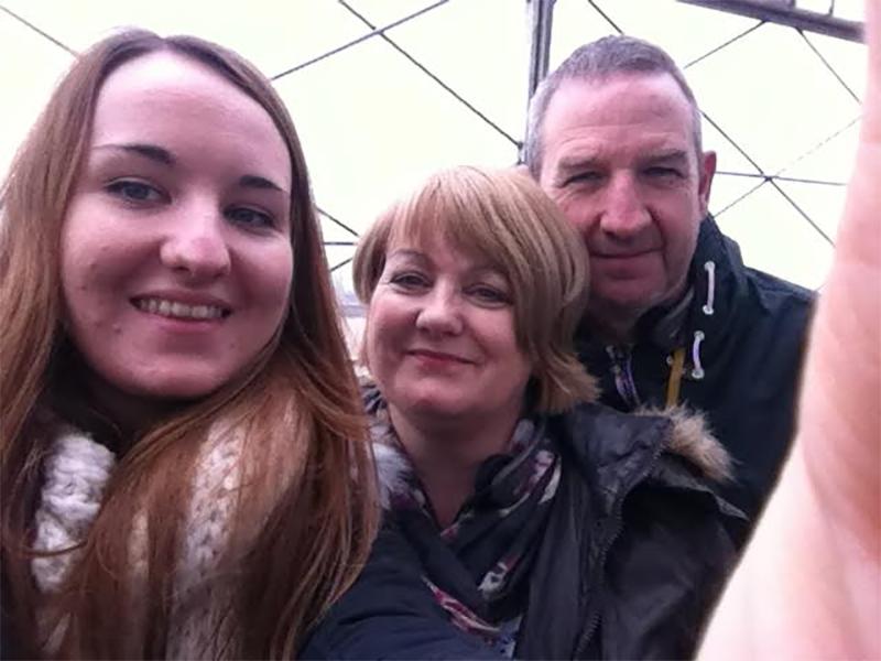 Pryce Family Selfie