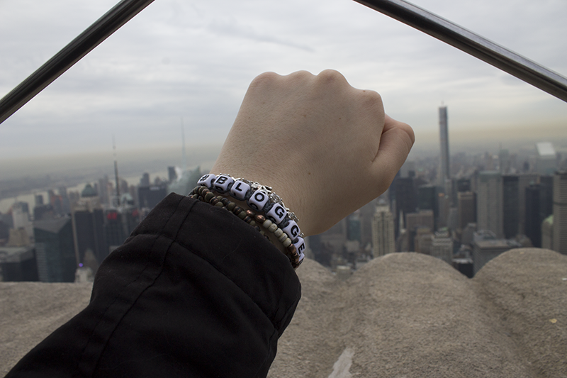 Blogger Bracelet Empire State Building