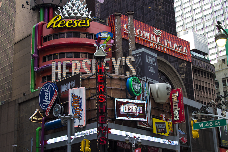 Hersey's World Times Square New York