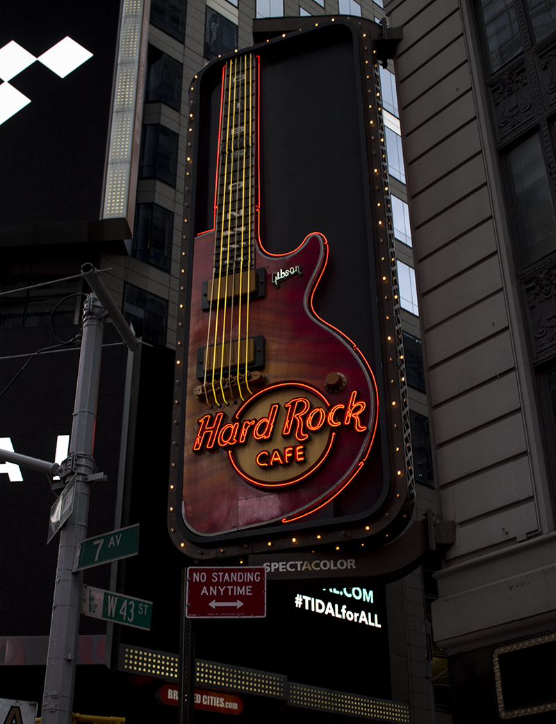 Hard Rock Cafe Times Square New York