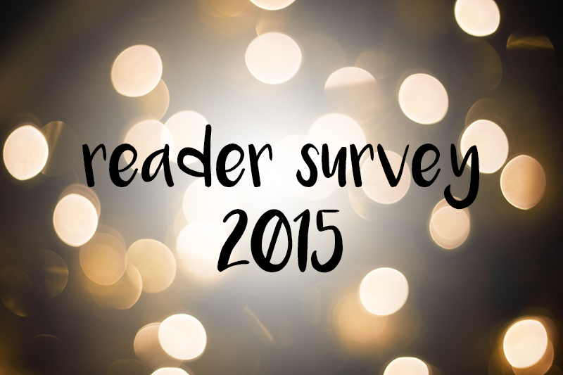 Reader Survey 2015