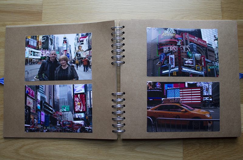 Scrapbooking - New York and Med Cruise