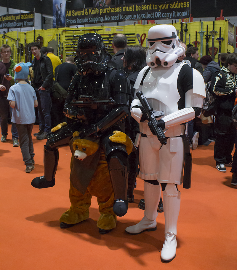 Stormtroopers at Liverpool Comic Con 2016