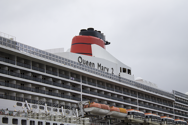 Queen Mary 2, Three Queens, Liverpool
