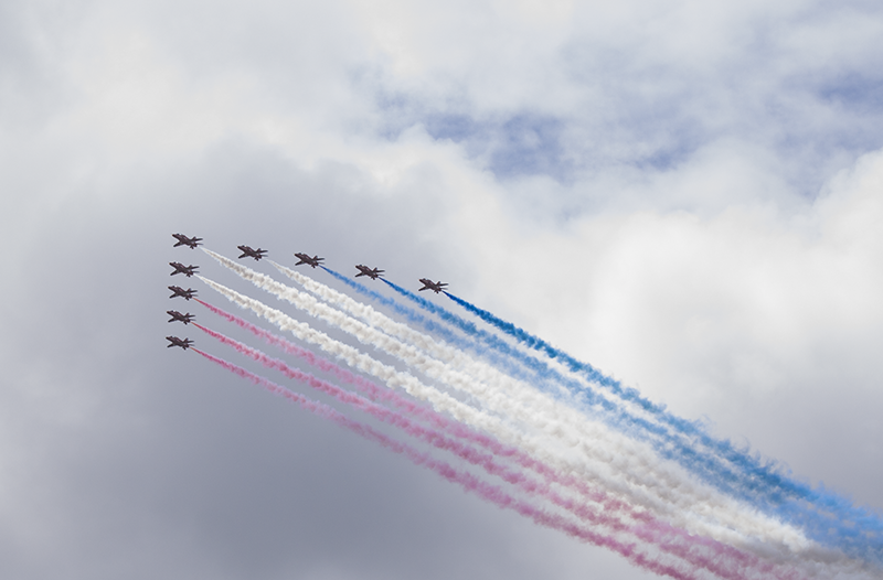 Red Arrows, Three Queens, Liverpool