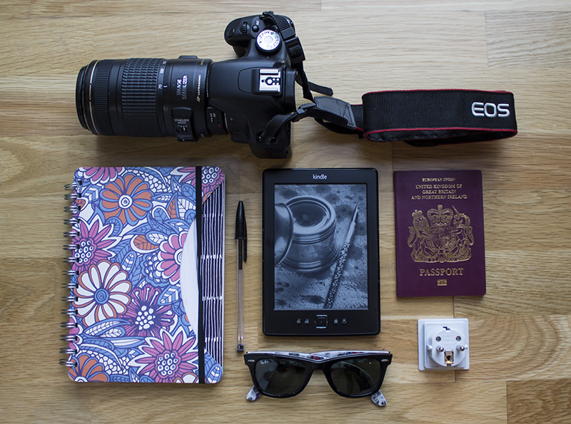 My essential travel items