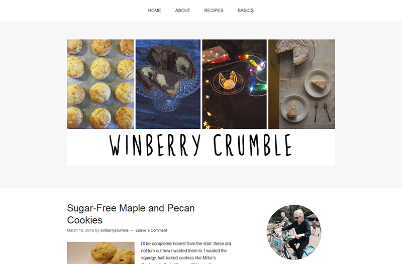 Winberry Crumble | Suggested Reading | Spring 2016