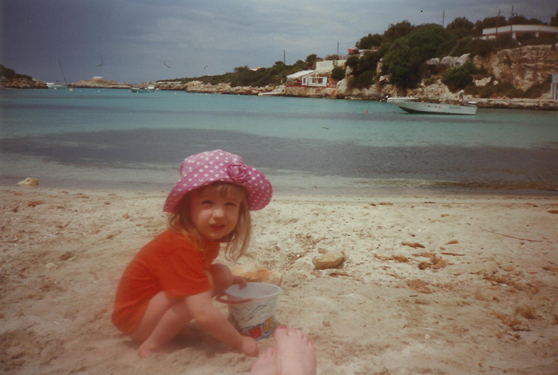 Childhood travel adventures - Menorca