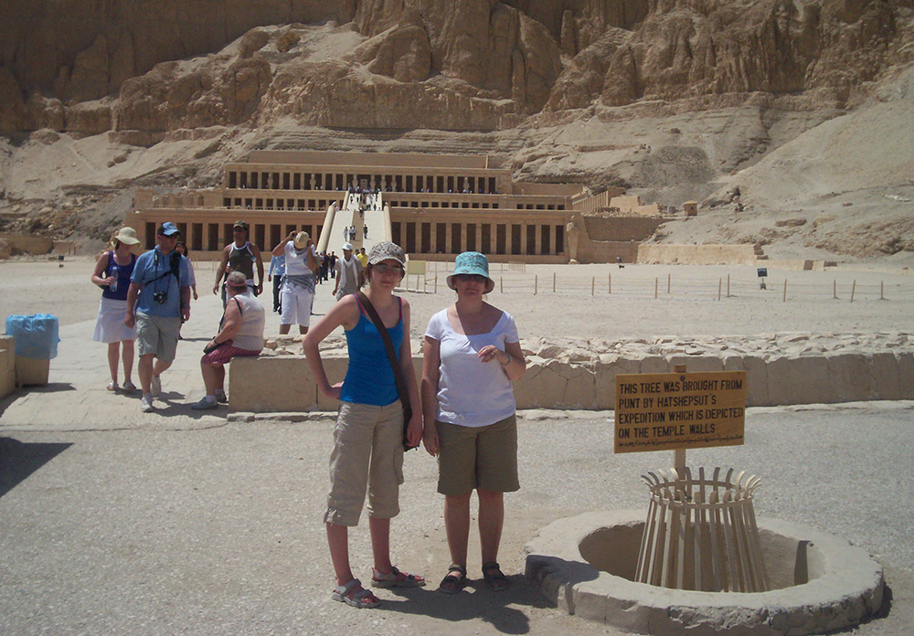 Childhood travel adventures - Egypt