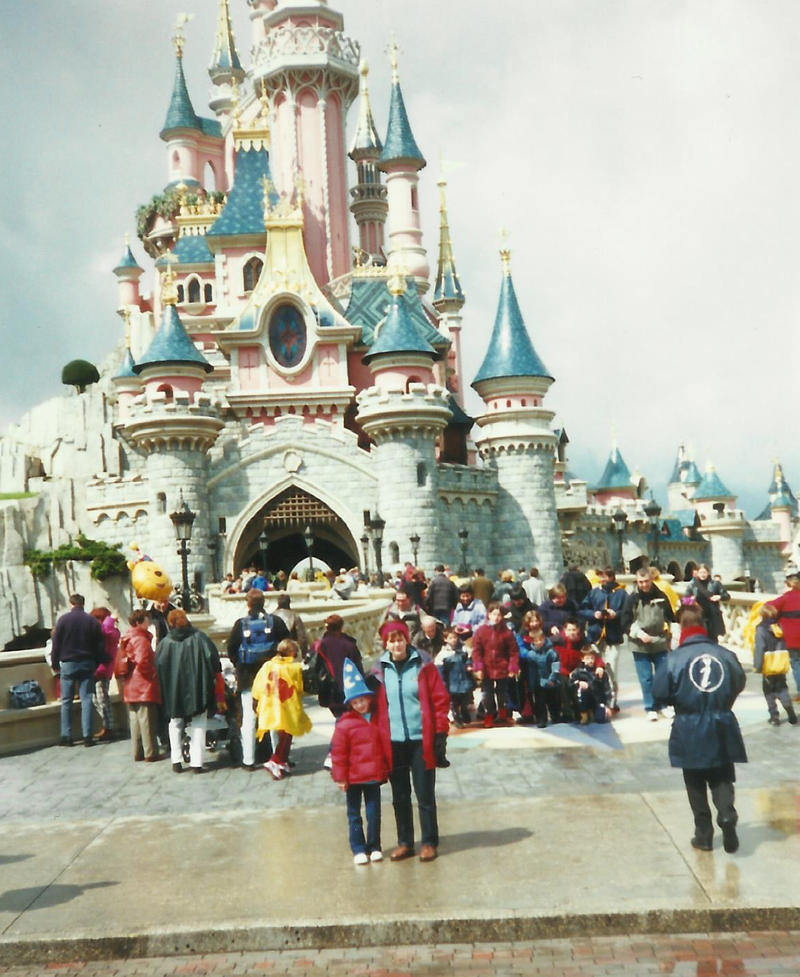 Childhood travel adventures - Disneyland Paris