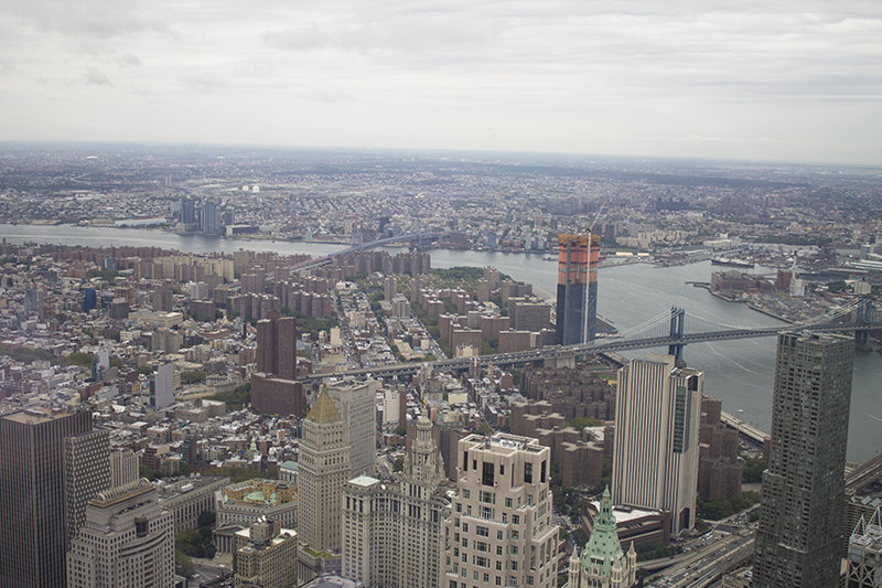 View from One World Observatory, New York