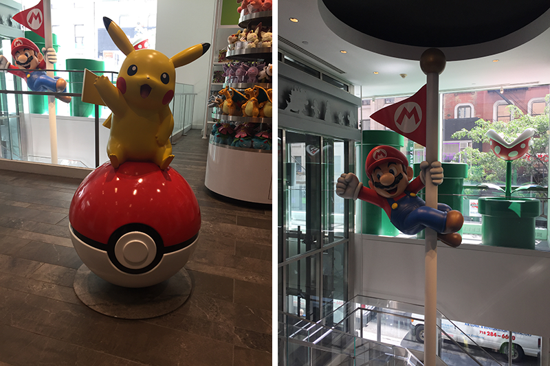 Nintendo Store, New York