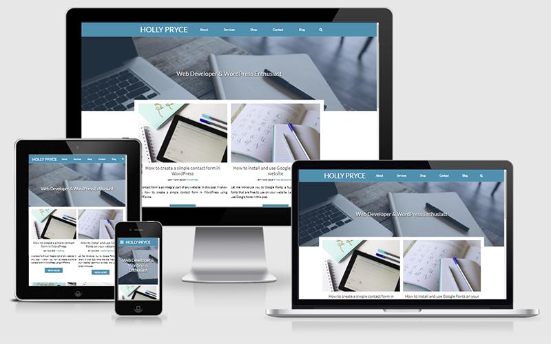 HollyPryce.com homepage | empfire.info