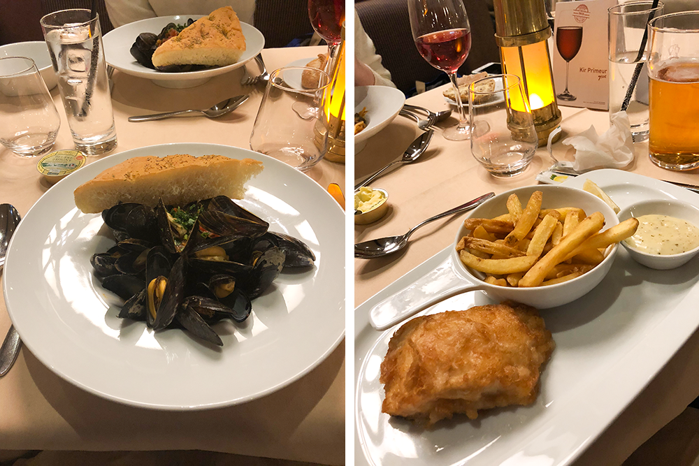 Food at the Yacht Club in Disneyland Paris | Empfire